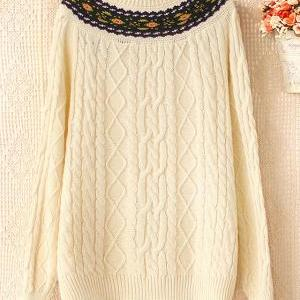 Fashion Foly Style Crochet Knit &Ca..