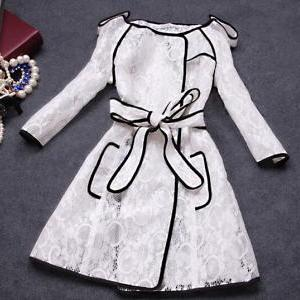 Fashion Lace Coat