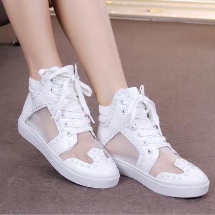 Summer Breathable Shoes Casual Wome..