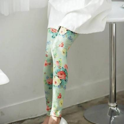Beautiful Floral Printed Cotton Leg..
