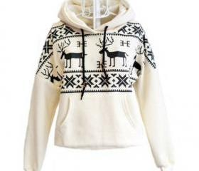 Deer Hooded Sweaters..