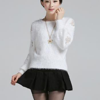 Sweet Loose Knit Sweater
